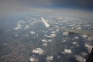 Flug von Düsseldorf nach Wien - später weiter nach Krems